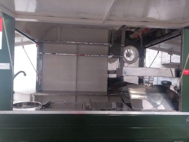 Treilher simples 1,70 para lanches açai sorvete food truck - Foto 8