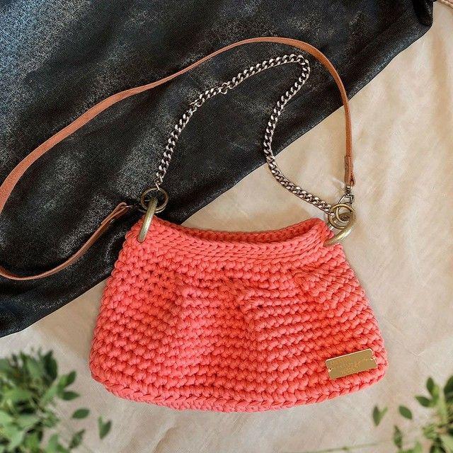 Bolsa Fenda em crochê  - Foto 2