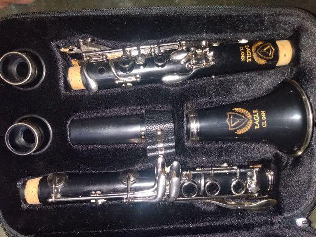 Clarinete Eagle novo!!! - Foto 4
