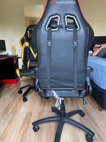 Cadeira Gamer ThunderRx3 - marcas de uso - Foto 2