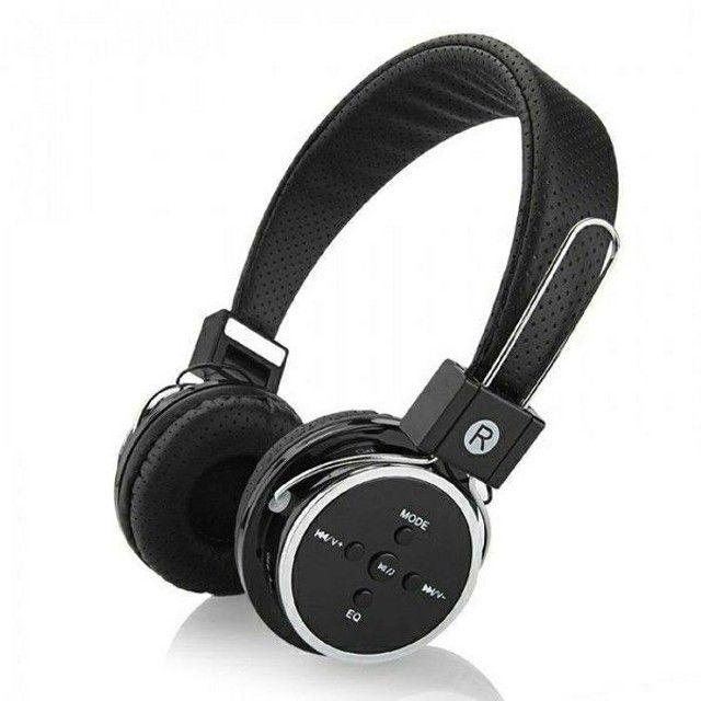 Headfone Sem Fio Altomex A-b05 Fone Bluetooth Micro SD FM MP3 MP4 - Foto 2