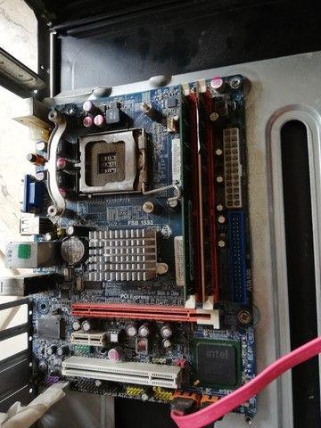 Placa mãe DDR3 socket 775