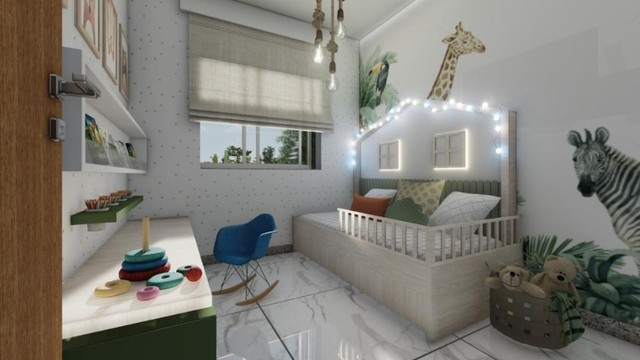 Apto B. Veneza, 03 quartos suíte, Sac. Gourmet, 102 m²,. Valor 280 mil - Foto 2