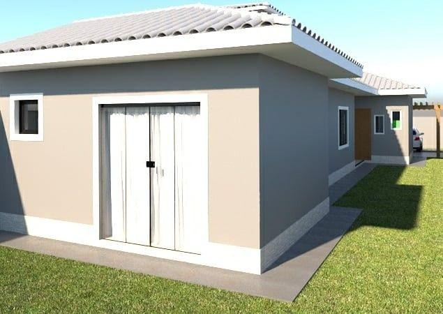 Casa de 1ª locação para venda com 3 quartos, suíte, garagem em Itaipuaçu - Maricá - Foto 3