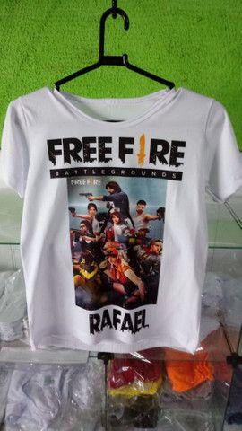 FreeFire camisas - Foto 6