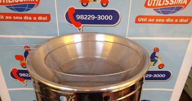 Fritadeira 7L a gás - Entrega grátis - Foto 4