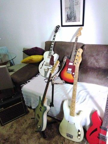 Guitarra Acústica Danelectro(Rara no Brasil) - Foto 4
