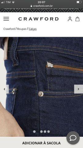 Calça jeans masculina Crawford Tam 40 - Foto 4