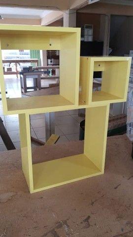 Nicho laqueado amarelo  - Foto 4
