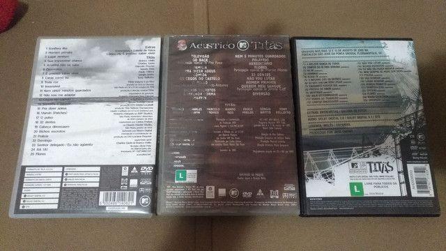 3 dvds titãs acústico 1 e 2 - Foto 2