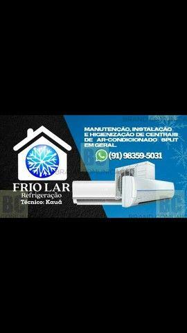 Estamos em promoção de limpeza ligue ou manda um zap  refrigeração em centrais de ar-