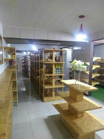 Vendo gôndolas de supermercado de madeira  - Foto 6