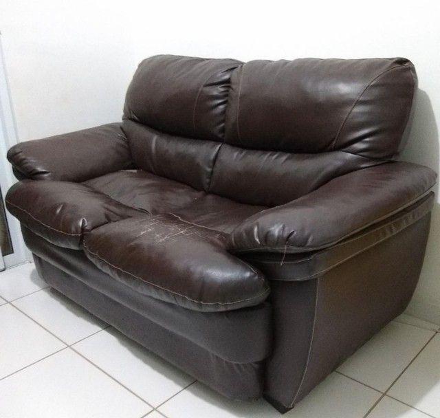 Sofá usado de 2 lugares - Foto 4