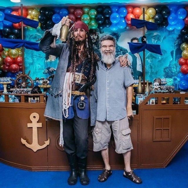 Personagens vivos Pirata Jack Sparrow , homem aranha deadpool  etc - Foto 3