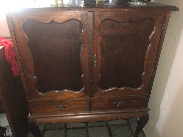 Móvel em madeira vintage
