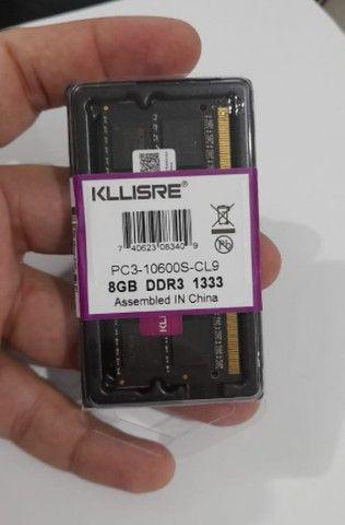 Memória 8 Gb DDR3 - 1333Mhz - Nova - Lacrada - Foto 3