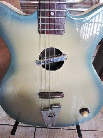 Guitarra Acústica Danelectro(Rara no Brasil) - Foto 5