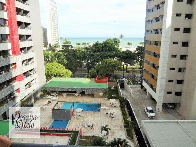 Edf Recife Flat / Boa Viagem / Setúbal / mobiliado / Lazer /top - Foto 11