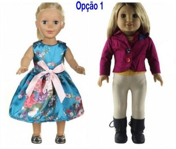 2 Conjuntos De Roupas Da Boneca American Girl