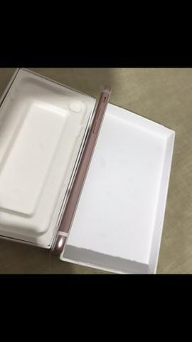 IPhone 7 32gb Rosé Gold na caixa completa com todos acessórios originais - Foto 3