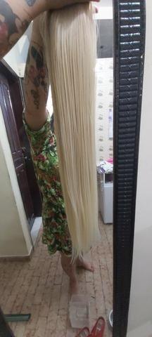 Mega hair louro da Malu - Foto 6