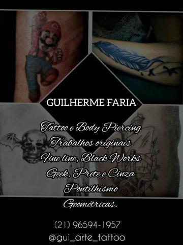 Atelier de Tattoo Black Arte
