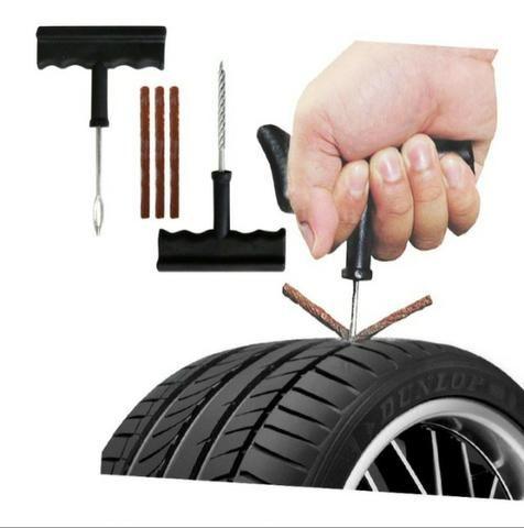 Kit remendo para pneu carro