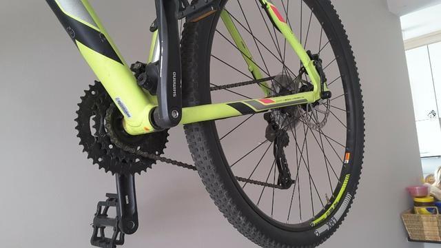 "Vendo Bike Trek Merlim 7 Aro 29"" zerada - Foto 3"