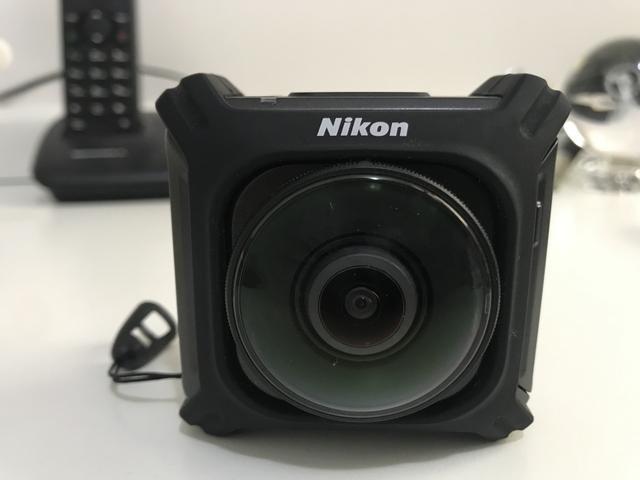 Câmera nikon 360 4k