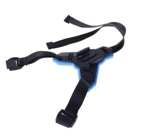 Suporte ajustável para capacetes compatível com GoPro, DJi Osmo Action, SJCAM e similares - Foto 4