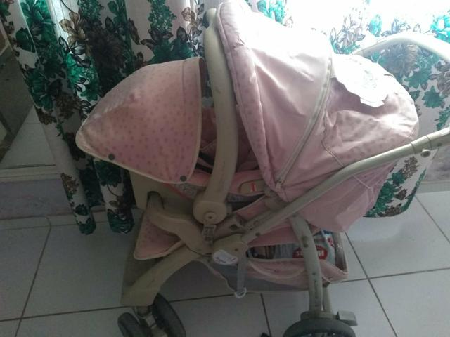 BORIGGOTO ?carrinho e bebê conforto? - Foto 6