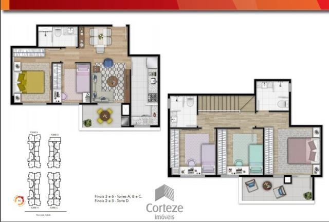 Apartamento Garden 2 Quartos com 2 vagas de garage - Foto 12
