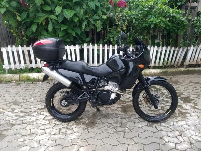 Nx 350 sahara preparada para viagens