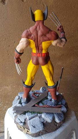 Estátua Wolverine peça de coleção - Foto 4