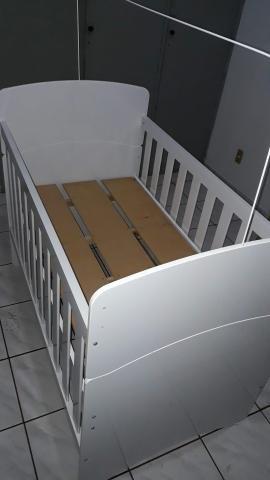 Berço americano +colchão colchão D18 ortobon novo. R$250,00 - Foto 3