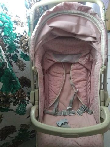 BORIGGOTO ?carrinho e bebê conforto? - Foto 3