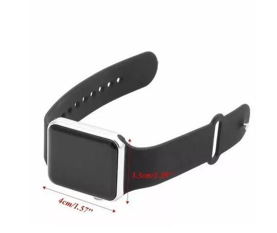 Relógio De Pulso Masculino Esportivo Digital Led Barato - Foto 5