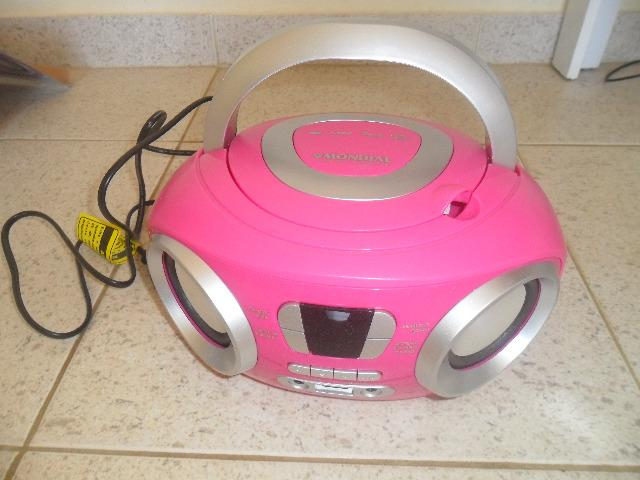 Som Portatil CD - Radio