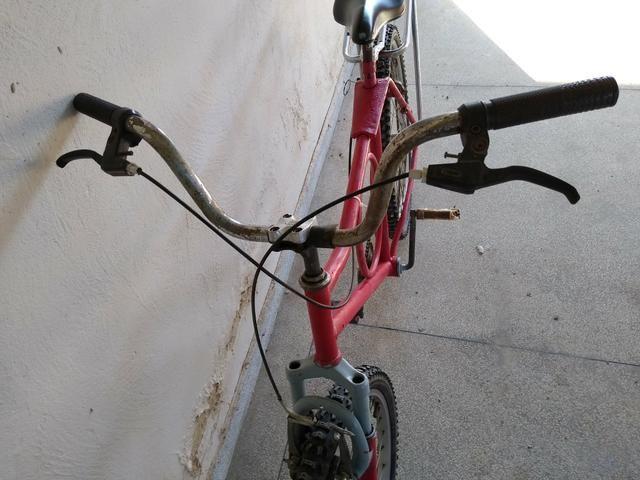 "Bicicleta barra forte ,26"" - Foto 6"