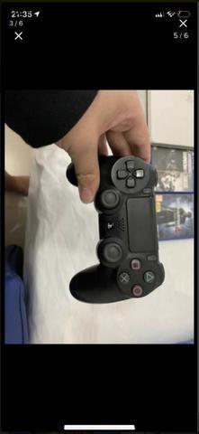 Vendo ps4 branco 500gb com 2 jogos e 2 controles - Foto 4