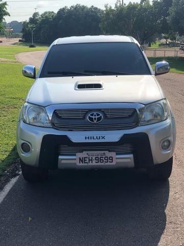 Toyota hilux 2010/2011 3.0 srv 4x4 cd 16v turbo intercooler diesel 4p automático - Foto 2