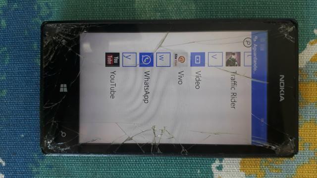 Nokia lumia 4gigas zapzap Wi-Fi mp3 câmera - Foto 2