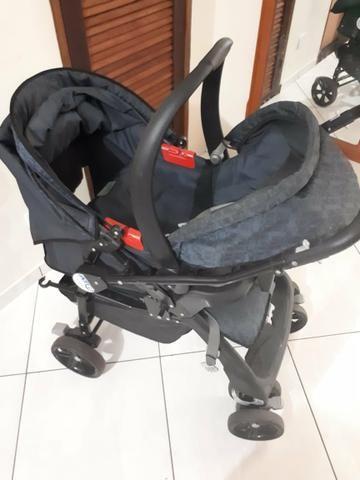 Carrinho e bebê conforto da burigoto
