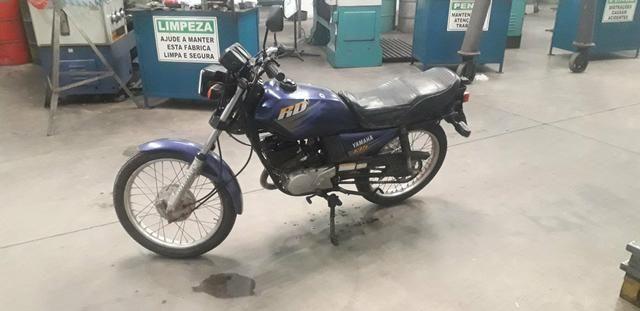 Rd 135 Yamaha manual e chave reserva