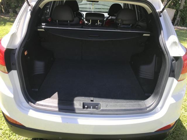 Hyundai IX 35 2015 branca Flex Aut. IMPECAVEL - Foto 11