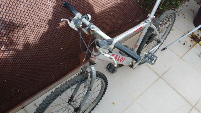 Caloi Supra 21V Aluminum Toda original - Foto 2