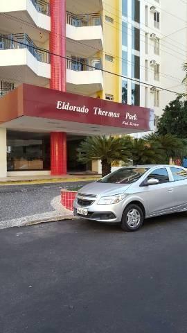 Apt 2qts Eldorado Thermas Park, para até 7 pessoas