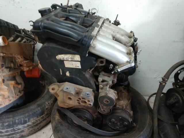 Motor parcial Audi A3 1.8 20V aspirado - Foto 2
