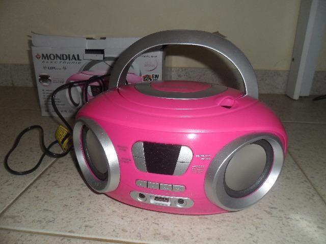 Som Portatil CD - Radio - Foto 2