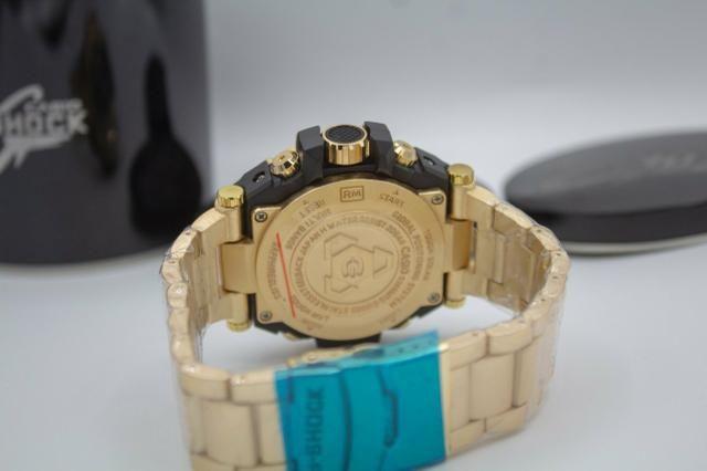 Relógio de pulso G-shock Full metal dourado barato - Foto 3